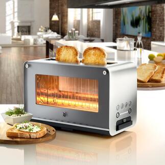 Grille-pain avec fenêtre en verre WMFLONO Design et technologie de pointe, à un prix réjouissant !