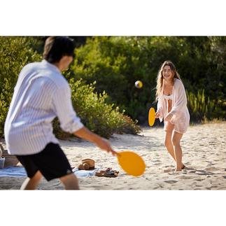 Beach ball, lot de 2 pièces La version design du classique Beach ball populaire. Fabrication à la main de grande qualité, en Espagne.