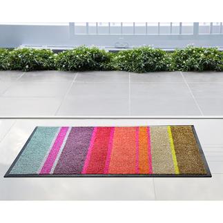 Paillasson design ultraplat Tout aussi élégant qu'un tapis délicat mais sans pitié pour la poussière, la boue et la saleté.
