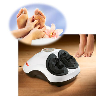 Appareil de massage des zones réflexes du pied Une combinaison rare : massage Shiatsu, aéromassage et fonction thermique. Le tout dans un seul appareil professionnel.