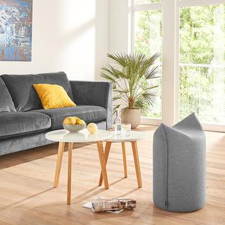 Pouf à pointes Votre colocataire idéal : le confortable et indestructible pouf à pointes au design primé.
