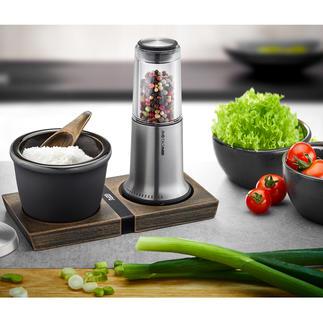 Moulin à poivre et sel ou Boîte à épicesX-Plosion® Design primé et technologie de broyage haut de gamme.