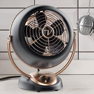 Ventilateur Vornado Alchemy Le légendaire tourbillon d'air en provenance des USA. Maintenant dans une nouvelle version : le Vornado Alchemy au design rétro de luxe.