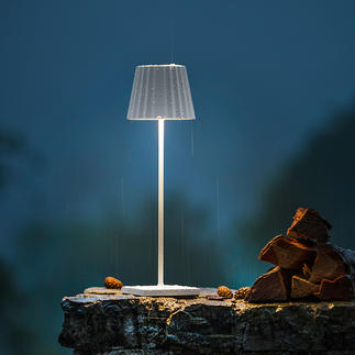 Lampe de table à batterie Belle, simple et au design soigné. Pour l'intérieur et l'extérieur.