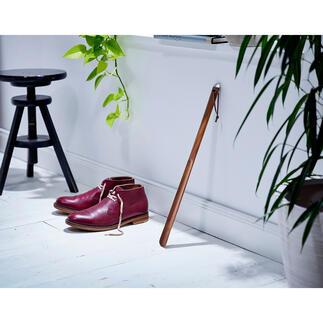 Chausse-pied Enfin un chausse-pied qui a de l'allure et qui ménage votre dos.
