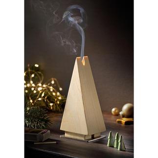 Sapin à encens Le sapin à encens en épicéa : une belle tradition de Noël dans sa version épurée.