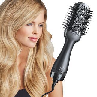 Brosse soufflante 4-en-1 L'accessoire de coiffure nouvelle génération : il sèche, brosse, lisse et style en un seul passage.