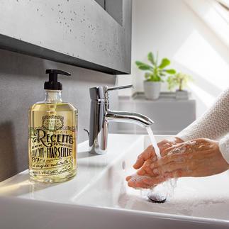 Savon liquide Provence par Panier des sens Conçu avec le savoir-faire des maîtres savonniers et maîtres parfumeurs de Marseille et Grasse.