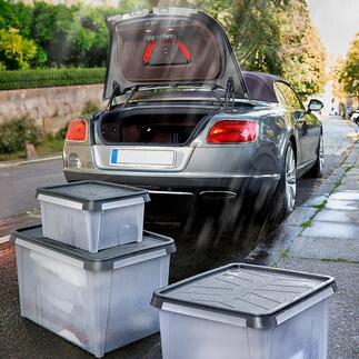Boîtes de rangement SmartStore™Dry Des boîtes étanches pour la cave, le grenier, le garage, la tente, la caravane, le bateau ...