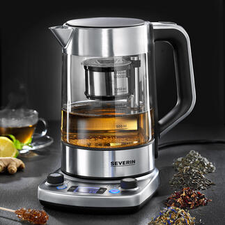 Machine à thé automatique gourmet La machine à thé intelligente : prépare à la perfection une grande variété de thé. Entièrement automatique.