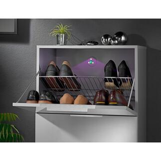 Lampe stérilisatrice à UV Un élément autocollant assainit l'air dans les placards, la poubelle, les toilettes …