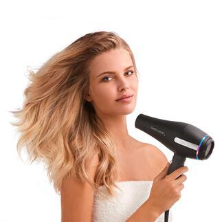 Sèche-cheveux professionnel Solis Une coiffure digne d'un coiffeur professionnel – désormais réalisable à la maison.