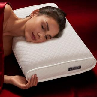 Coussin SleepWell par medisana® Développé pour les astronautes : des sons composés scientifiquement favorisent la réduction du stress et aident à améliorer la qualité du sommeil.