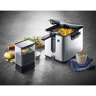 Friteuse WMF KÜCHENminis® Ultracompacte, élégante et prête à frire en quelques minutes. Par WMF.