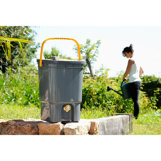 Appareil à préparation d'engrais liquide BioMix Des déchets verts en provenance de votre jardin, de l'eau et un BioMix génial : c'est tout ce dont vous avez besoin !