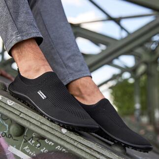 Mocassins pieds nus leguano® Sains et relaxants comme la marche pieds nus : les mocassins d'été stretch légers par leguano®. Fabrication allemande, pour hommes et femmes.