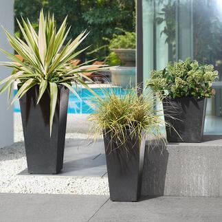 Pots à plantes recyclés Tendances et respectueux de l'environnement : les pots à plantes en pneus recyclés pour l'intérieur comme l'extérieur.