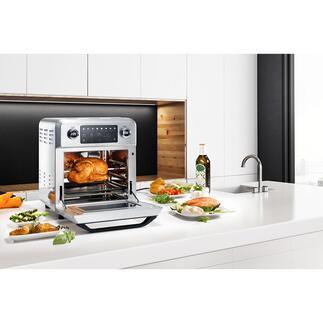 Bistro Vital Deluxe Un appareil 9-en-1 aux multiples talents pour une cuisine variée, saine, pauvre en graisses et en calories.