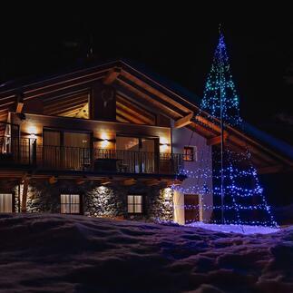 Arbre lumineux magique L'attraction de votre décoration de Noël : une sculpture de couleur et de lumière fascinante. Extrêmement simple à contrôler via smartphone.