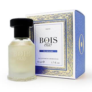 Eau de Parfum  « Oltremare » Bois 1920, 50 ml Incomparablement frais, vibrant, dynamique : « Oltremare » diffuse une odeur de vacances en Méditerranée.