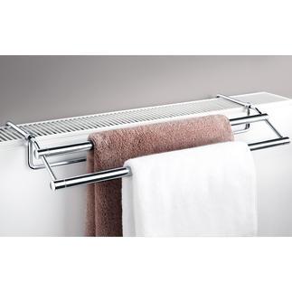 Sèche-serviettes pour radiateur Enfin un sèche-serviettes élégant, adapté à la plupart des radiateurs.