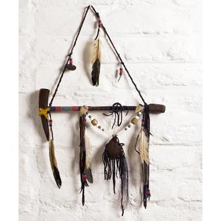 Calumet de la paix Navajo Témoignage fascinant de la culture amérindienne. Chaque pièce est unique. Avec certificat d'authenticité.