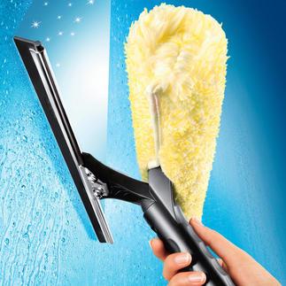 Laveur de vitres Ettore® Vous n'avez encore jamais lavé vos vitres aussi facilement et rapidement.