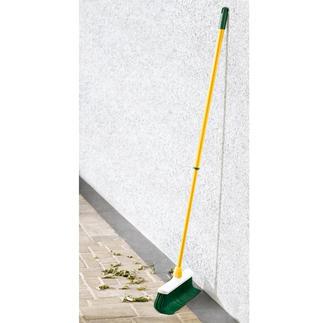 Kit balai à brosse recourbée, 3 pièces Traque la saleté dans les moindres fentes, rainures, joints et coins. Idéal pour l'intérieur et l'extérieur.