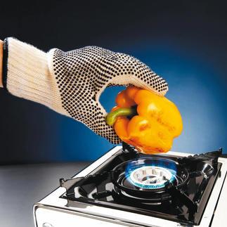 Gants de protection contre la chaleur, lot de 2 En matériau résistant à la chaleur utilisé pour les combinaisons des pilotes automobiles.