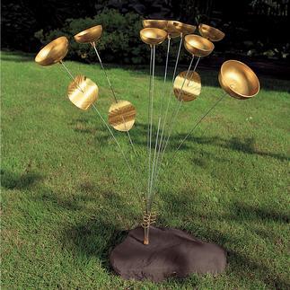 """Carillon Woodstock Au moindre souffle d'air, le tintement de neuf clochettes fait naître une nouvelle """"mélodie""""."""