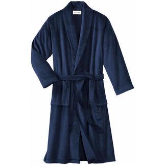 Peignoir « Triton » Quel peignoir porte le fabricant des plus luxueuses robes de chambre ?