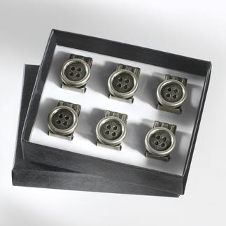 Clips-bouton pour bretelles Clips pratiques pour vos bretelles. Attachez-les sur n'importe quel pantalon.