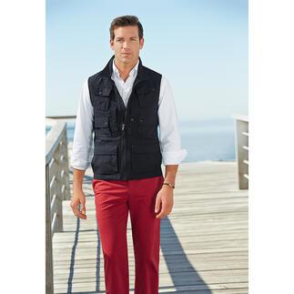 Gilet 10 poches Aigle 10 poches pratiques. Et une protection contre les rayons UV nocifs.