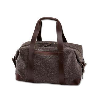 Sac week-end Cherchbi Au-delà de toutes les tendances : le sac week-end élégant en tweed imperméable. Robuste et durable.