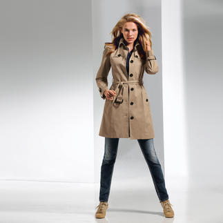 Trench-coat DAKS Le come-back tendance du trench-coat : l'original de DAKS/Londres est un investissement pour la vie.