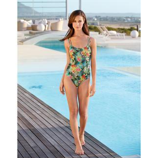 Maillot de bain SunSelect®, Hibiscus Un maillot de bain à l'effet d'une bonne crème solaire.