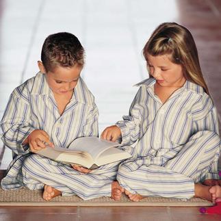 Pyjama enfants de Derek Rose Tous les enfants aiment les pyjamas à rayures. Voici l'original de Derek Rose, Londres.