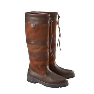 Bottes en cuir imperméables Dubarry L'alternative stylée aux bottes en caoutchouc. La botte Galway imperméable en cuir véritable.