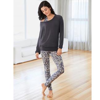 Shirt, Débardeur Leoprint ou Legging de Yoga Curare L'ensemble d'intérieur sans doute le plus confortable que vous ayez jamais porté. De Curare Yogawear.