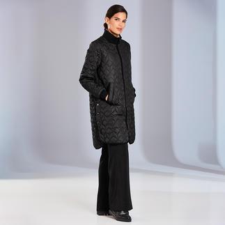Manteau matelassé Ilse Jacobsen Le design danois ennoblit le manteau matelassé, favori de la mi-saison. D'Ilse Jacobsen, Hornbaek.