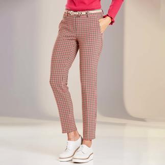 Pantalon à carreaux Blended Wool Seductive Votre pantalon en tissu probablement le plus simple d'entretien – désormais à carreaux vichy tendance.