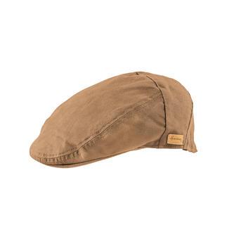 Chapeau intempérie en coton ciré Herman La micro-cire spéciale le rend déperlant et coupe-vent, tout en étant respirant.