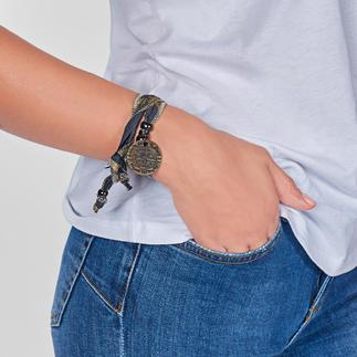 Bracelet Hakuna Matata « Sans aucun soucis » : l'accessoire de mode spécial en matériau solaire sud-africain.