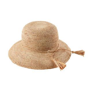 Chapeau en raphia Loevenich Doux et flexible et non pas raide et encombrant : le chapeau de paille incassable en raphia.