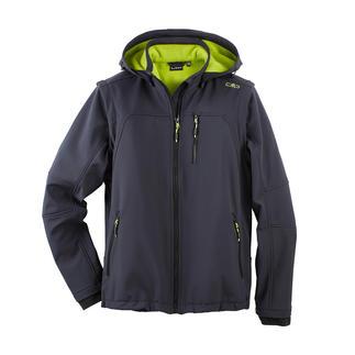 Veste en softshell pour homme Élancée, légère et pourtant bien chaude. Veste en softshell, avec WindProtect® de CMP.