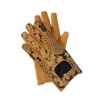 Gants python TWINSET Les gants TWINSET doublement tendance avec fonction pratique pour écran tactile. Aspect python. Style pilote.