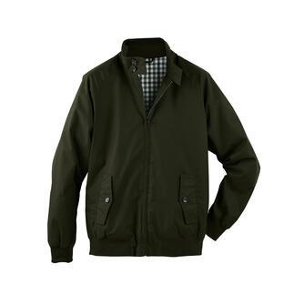 Veste cirée Harrington La veste Harrington classique et culte – désormais en coton ciré résistant aux intempéries.