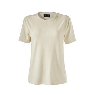 T-shirt en éponge Howlin Tissu éponge : de plus en plus tendance, mais rarement aussi fin.