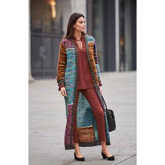 Manteau en mohair M Missoni L'oeuvre d'art tendance par excellence : le manteau surdimensionné en mohair de la marque de tricot M Missoni.