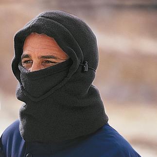 Balaklava Une pièce rare: la Balaklava en laine polaire douce pour s'y blottir.
